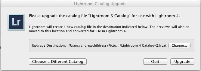 Upgrading a Lightroom 3 catalog to Lightroom 4 is necessary to use it with the latest version. The same is true with Lightroom 5.