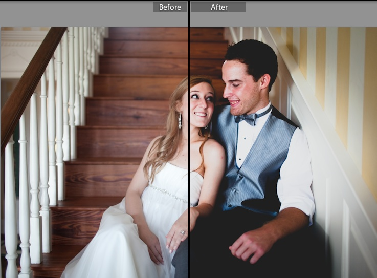 Wedding Day Smiles Preset