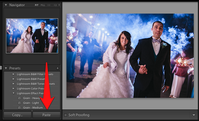 """Pressing """"Paste"""" will place all of our editing settings onto another image. You can see that because I copied almost all of the settings from the first photo, this photo looks very similar after applying the paste."""